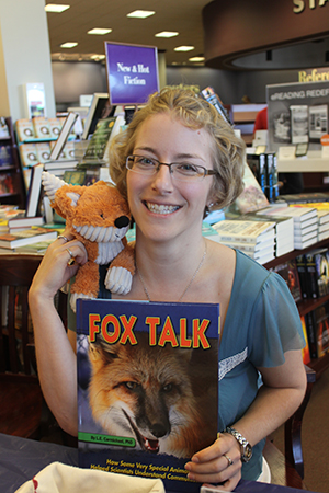 Fox Talk book signing